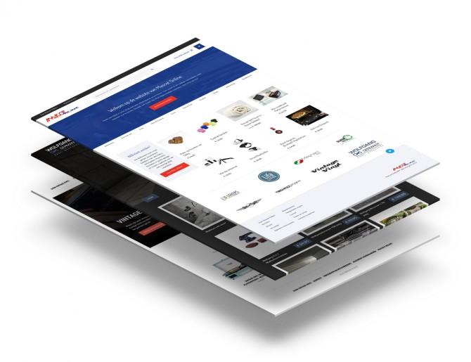 Mascot Online webportal en front-ends