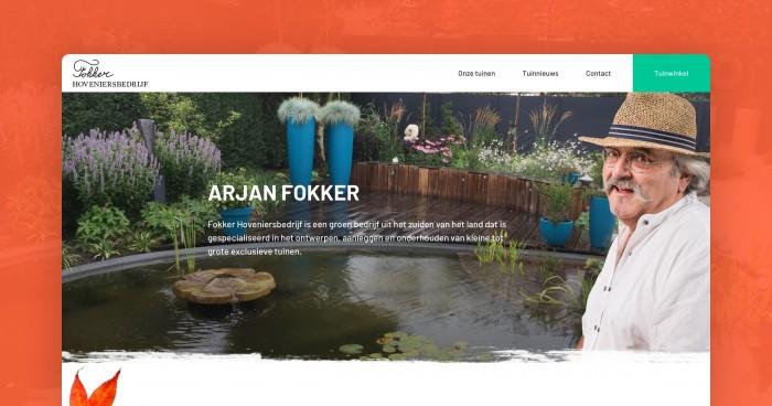 Arjan Fokker heeft een nieuwe website!