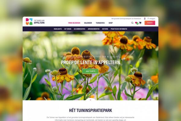 Rebuild Appeltern.nl