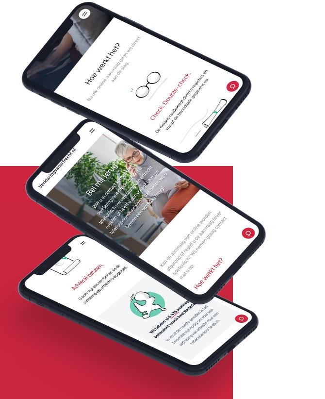 Verklaringvanerfrecht.nl is geoptimaliseerd voor mobiel gebruik