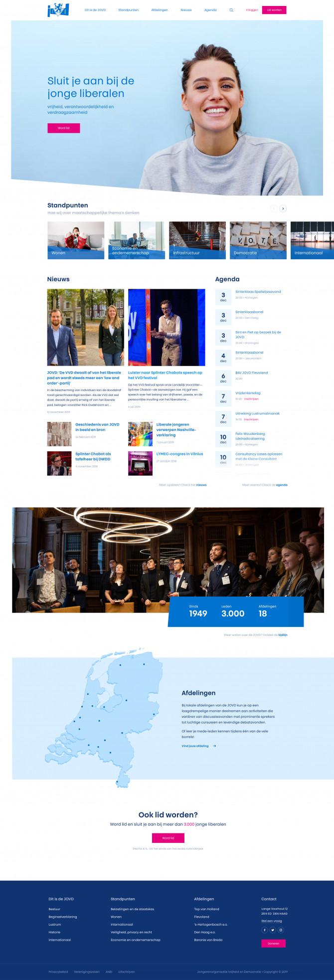 Webdesign JOVD - Adecon.nl