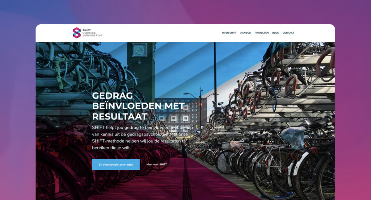 Nieuwe website voor Shiftgedrag.nl