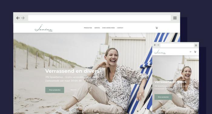 Online winkelen op Janinemode.nl mogelijk gemaakt