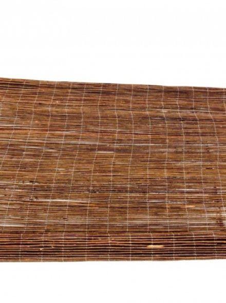 Wilgenrol 200 x 200 cm (Wilgentenen mat 2x2 meter)