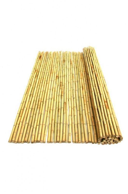 Bamboemat Geel Daguan 200 x 180 cm
