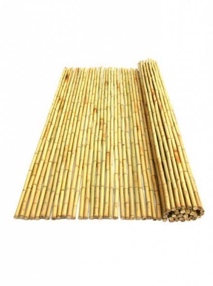 Bamboemat Geel Daguan 180 x 180 cm