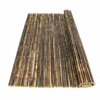 Bamboemat Zwart Nigra 180 x 180 cm