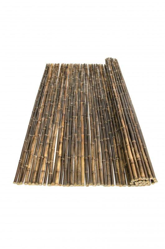Bamboerol donker Nigra 180 x 180 cm