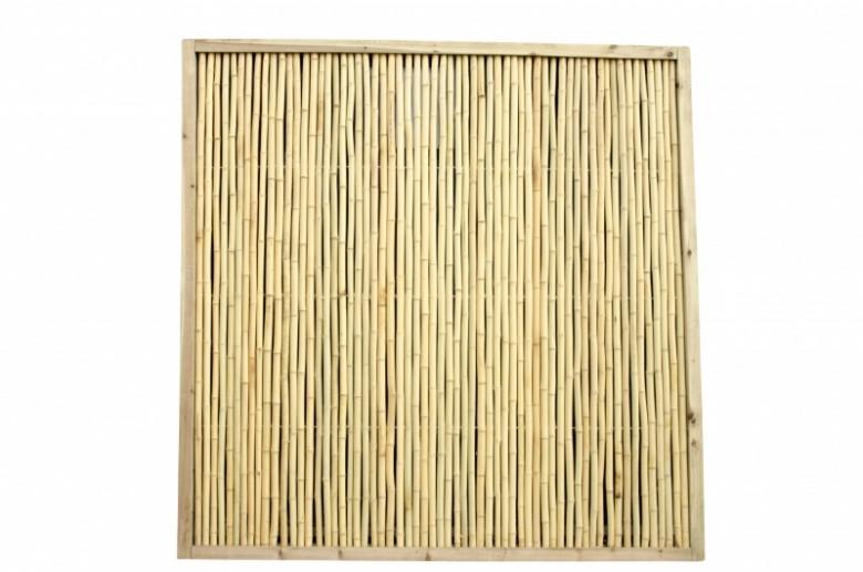 Bamboescherm Beijing 180 x 180 cm Geel