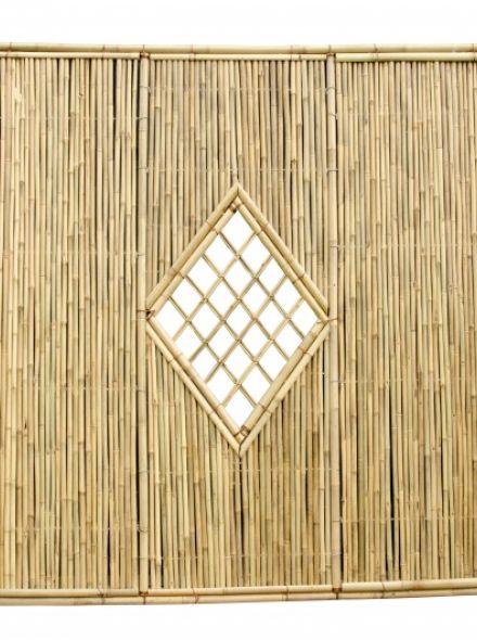 Bamboescherm Geel Shangdong 180 x 180 cm