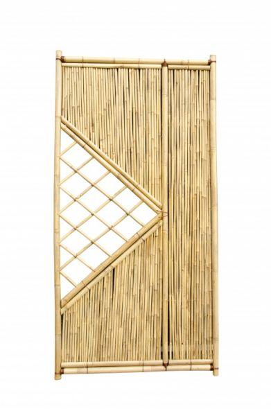 Bamboescherm Geel Guangdong 90 x 180 cm