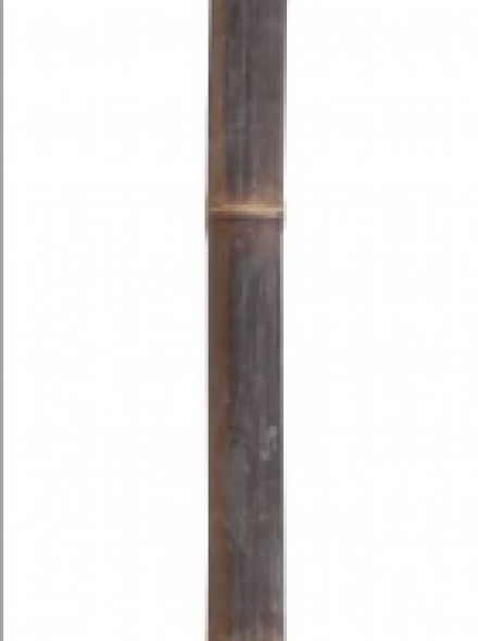 Bamboepaal Zwart 300 cm, diameter 50-60 mm