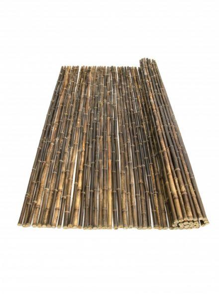 Bamboemat Zwart Nigra 100 x 180 cm