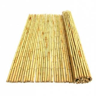 Bamboemat Geel Daguan PLUS 180 x 180 cm