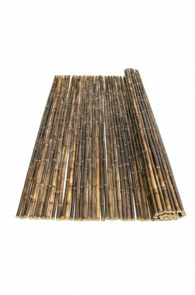 Bamboemat Zwart Nigra PLUS 180 x 180 cm