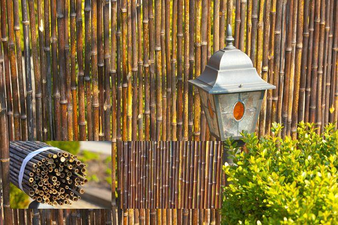 Bamboerol donker Nigra 200 x 180 cm