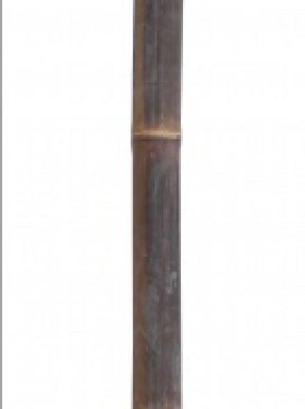 Bamboepaal Zwart 200 cm, diameter 35-40 mm