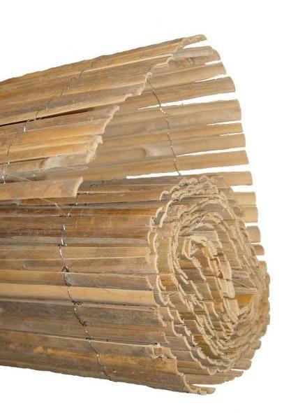 Gespleten Bamboemat 100 x 500 cm