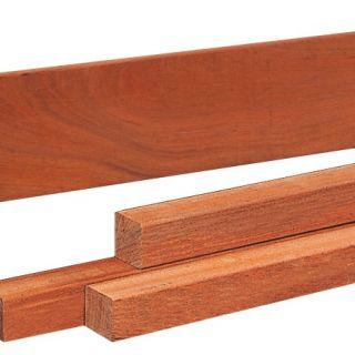 Hardhouten paal 300 x 6 x 6 cm fijn gezaagd