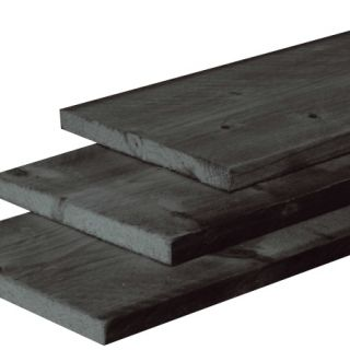 Douglas Plank Zwart 2,2 x 20 x 400 cm
