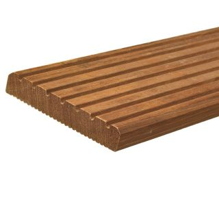 Hardhouten vlonderplank met groef (2,1 x 14,5 x 305 cm)