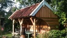 Authentieke houten constructies en tuingebouwen