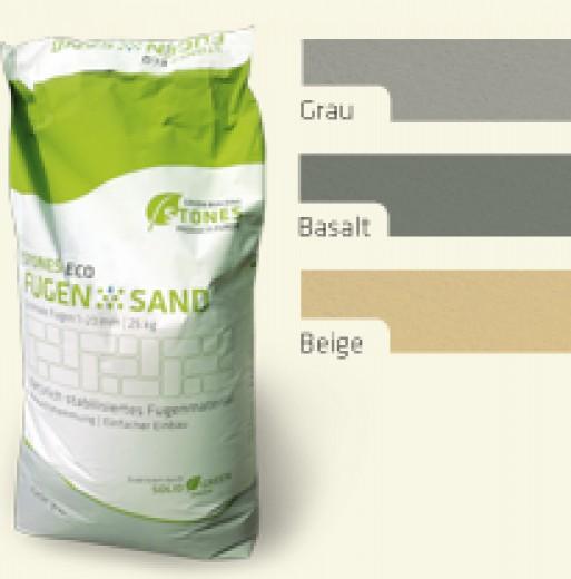 FugenSand Basalt (Voegzand Antraciet) - zak 25 kilogram