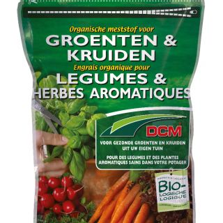 Organische Meststof voor Groenten en Kruiden (750 gram organische bemesting)