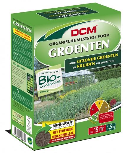 Organische Meststof voor Groenten en Kruiden (1,5 kilogram Organische bemesting)