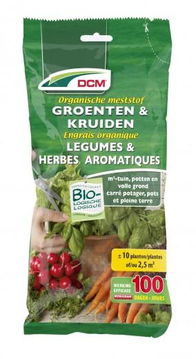 Organische Meststof voor Groenten en Kruiden (200 gram organische bemesting)