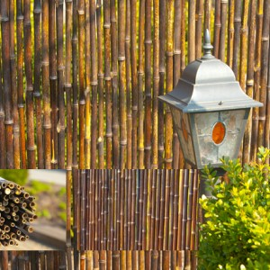 Natuurlijke schutting van Bamboe