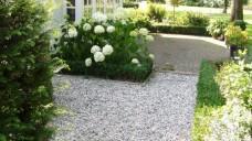 Grindpaden en grindvlakken