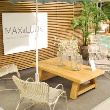 MAX & LUUK parasols en Outdoor Furniture