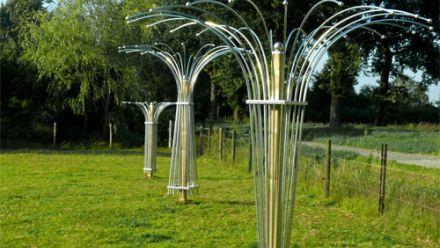 Klimplantrekken van gegalvaniseerde metaal