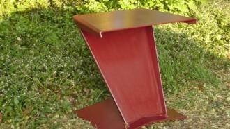 Kunstzinnig meubilair voor tuin en straat