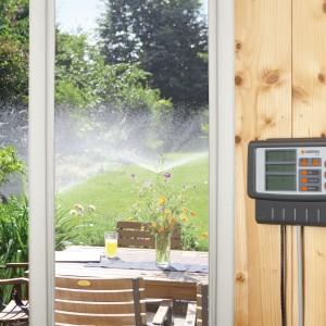De aanleg van een Gardena watergeefsysteem