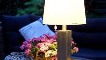 Tuinverlichting op zonne-energie