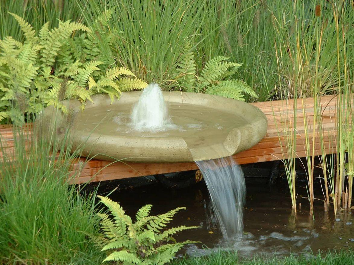 Waterschaal 80 cm reservoirset (set 1, inclusief reservoir)