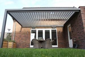 Terrasoverkappingen met verstelbaar dak