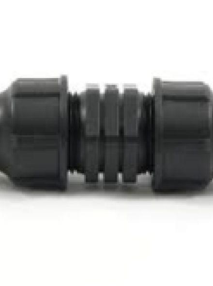 Rechte verbinder 16 mm (Herbruikbare koppeling druppelslang)