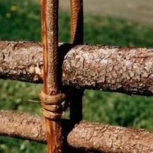 Handgemaakt hekwerk uit Zweden