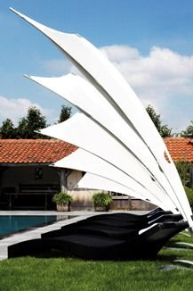 Rimbou zeil Venus 300 cm. Limited edition Canvas (Parasol)