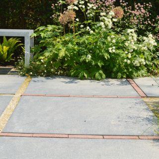 Terrastegels 100 x 100 cm grijs - m2 (Flamestone, Siertegel beton)