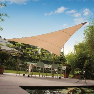 Ingenua zeil driehoek 400 cm. Premium edition (Schaduwdoek driehoek)