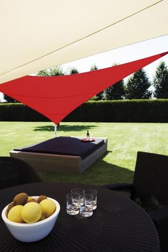Ingenua zeil driehoek 500 cm. Premium edition (Schaduwdoek driehoek)
