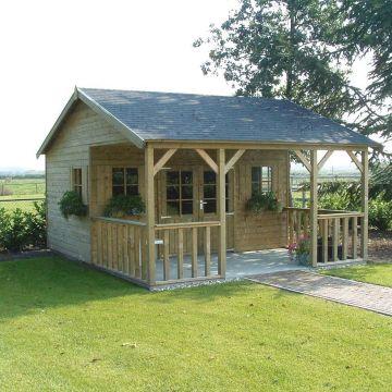 Duurzame tuinhuizen en tuingebouwen