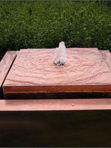 Watertafel Koper 100 x 100 x 40 cm
