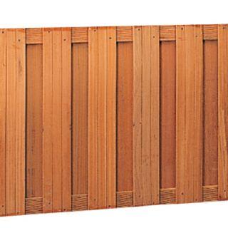 Hardhouten schutting (recht 180 x 90 cm, art. 14368)
