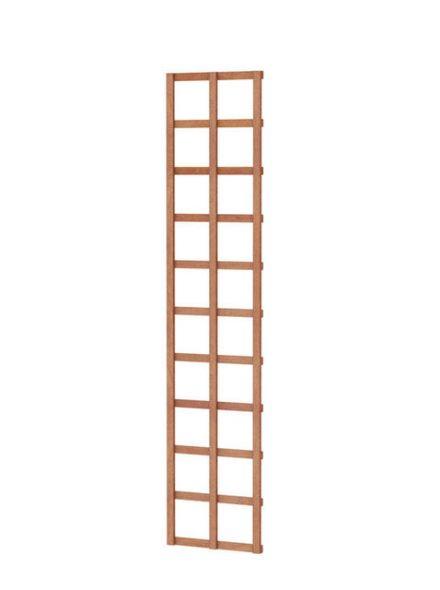Hardhouten trellis rechthoek 40 x 180 cm (Art. 14318)