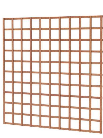 Hardhouten trellis rechthoek 180x180cm (Art. 14317)